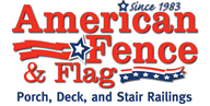 American Fence and Flag